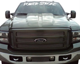 1950-2017 Ford Expedition Power Stroke Vinyl Windshield Body Decal Sticker New Custom 1PC 10 Colors F150 F250 F350 Raptor SVT Explorer