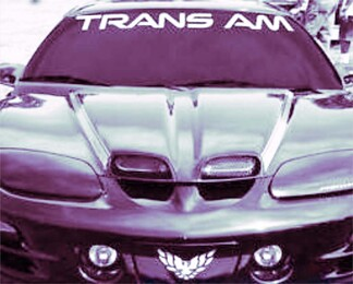 1950-2017 Pontiac Trans Am Vinyl Windshield Body Decal Sticker New Custom 1PC