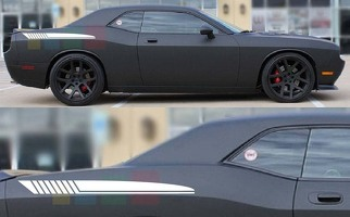 2x Sticker star Decal kit compatible with Dodge Challenger 27