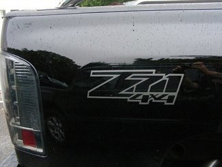 Z71 4x4 Truck Bed Decals (Set) Your choice of color. Fits: Chevrolet Silverado GMC Sierra