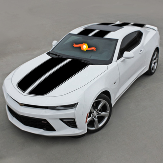 CHEVROLET CAMARO 2016-2018 TOP RALLY SPORT STRIPES W/ ROOF