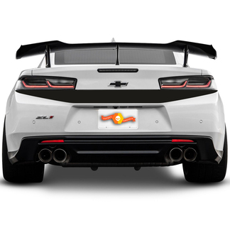 CHEVROLET CAMARO 2016-2018 REAR BUMPER TOP ACCENT BLACKOUT DECAL