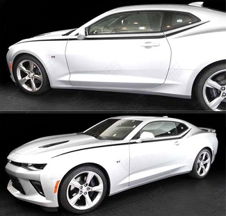 CHEVROLET CAMARO 2016- 2018 JAVELIN TOP SIDE ACCENT STRIPES