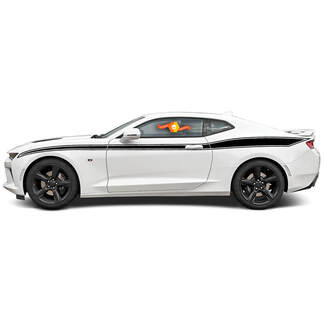CHEVROLET CAMARO 2016-2018 JAVELIN STYLE SIDE VINYL STRIPES