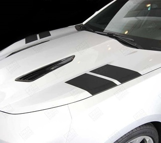 CHEVROLET CAMARO 2016-2018 HOOD HASH SIDE ACCENT STRIPES