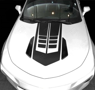 CHEVROLET CAMARO 2016-2018 HOOD ACCENT DECAL STRIPE