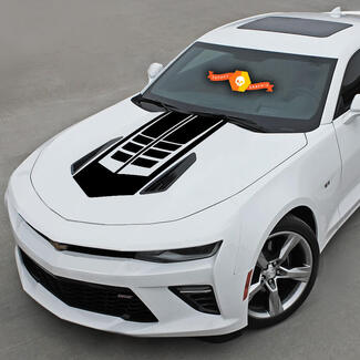 CHEVROLET CAMARO 2016-2018 HOOD ACCENT DECAL VINYL STRIPE