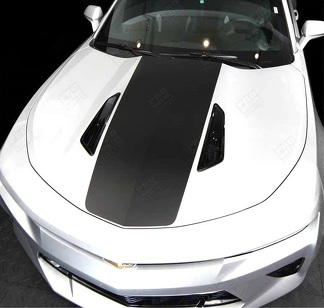 CHEVROLET CAMARO 2016-2018 HOOD & REAR ACCENT DECAL STRIPES