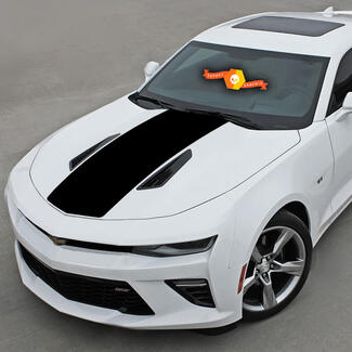 CHEVROLET CAMARO 2016-2018 HOOD & REAR ACCENT DECAL VINYL STRIPES