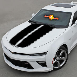 CHEVROLET CAMARO 2016-2018 FRONT & REAR RALLY SPORT STRIPES VINYL DECAL
