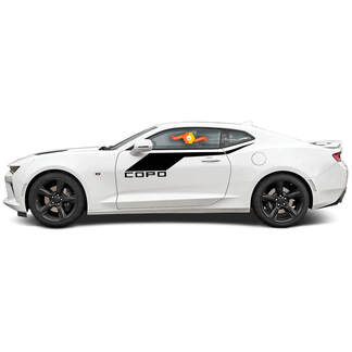 CHEVROLET CAMARO 2016-2018 COPO STYLE SIDE ACCENT VINYL STRIPES