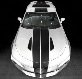 CHEVROLET CAMARO 2016-2018 BUMPER TO BUMPER TAPERED DUAL STRIPES