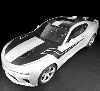 CHEVROLET CAMARO 2016-2018 -SS- TOP AND SIDE STRIPES COMPLETE SET