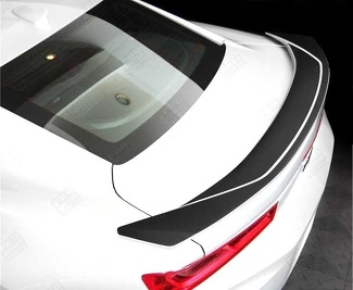 CHEVROLET CAMARO 2016-2018 -SS- RAISED SPOILER ACCENT DECALS