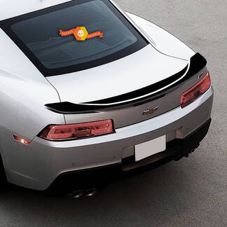 CHEVROLET CAMARO 2016-2018 -SS- RAISED SPOILER ACCENT VINYL DECALS