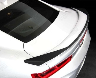 CHEVROLET CAMARO 2016-2018 -SS- RAISED SPOILER ACCENT DECAL