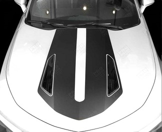 CHEVROLET CAMARO 2016-2018 -SS- HOOD ACCENT DECAL STRIPE