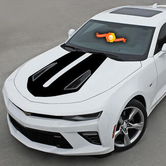CHEVROLET CAMARO 2016-2018 -SS- HOOD ACCENT DECAL VINYL STRIPE