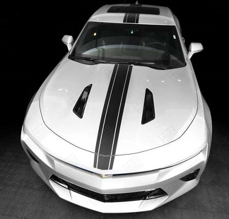 CHEVROLET CAMARO 2010-2018 TOP NARROW CENTER ACCENT STRIPES DECAL