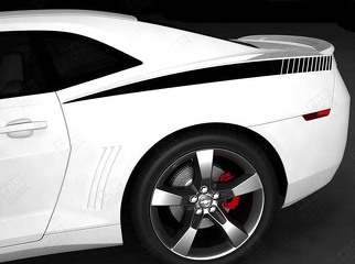 CHEVROLET CAMARO 2010-2018 REAR QUARTER SIDE STROBE STRIPES