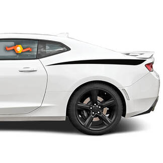 CHEVROLET CAMARO 2010- 2018 REAR QUARTER SIDE ACCENT DECAL STRIPES