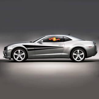 Chevrolet Camaro 2010-2020 Racing Sport Seitenstreifen