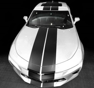 CHEVROLET CAMARO 2010-2018 OVER-THE-TOP STRAIGHT DOUBLE STRIPES