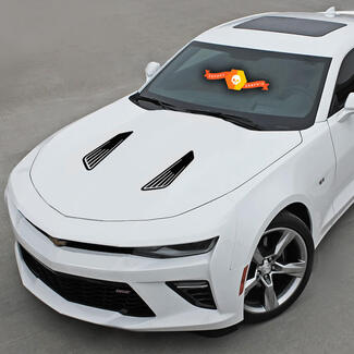 Chevrolet Camaro 2010-2020 Hood Louvers Imitation Accent Decals