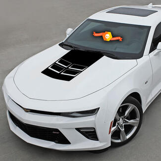Chevrolet Camaro 2010-2020 Hood Cowl Stripe Zl1 Style Decal
