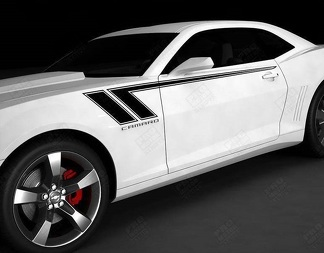 CHEVROLET CAMARO 2010-2018 HASH SPEED SIDE ACCENT STRIPES DECAL