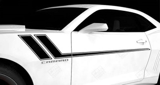 CHEVROLET CAMARO 2010-2018 HASH SPEED SIDE ACCENT STRIPES