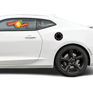 Chevrolet Camaro 2010-2020 Gas Tank Lid Door Overlay Decal
