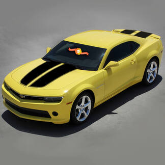 CHEVROLET CAMARO 2010-2015 RALLY RACING STRIPES SET WITH ROOF