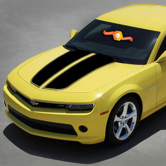 Chevrolet Camaro 2010-2015 Rally Racing Stripes Hood