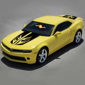 CHEVROLET CAMARO 2010-2015 RACING WINGS STRIPES