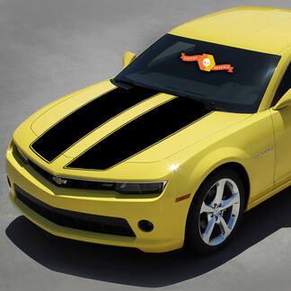Chevrolet Camaro 2010-2015 Racing Stripes Hood Hummeltransformatoren