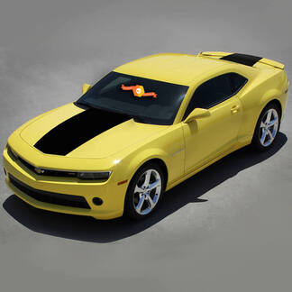CHEVROLET CAMARO 2010-2015 FACTORY STYLE SOLID HOOD & TRUNK VINYL DECALS