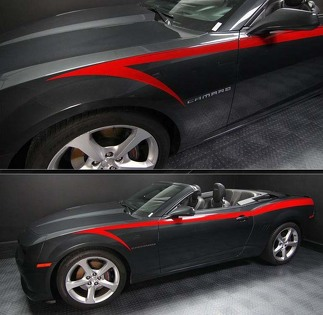 CHEVROLET CAMARO 2010-2015 DEVIL'S TAIL SIDE STRIPES