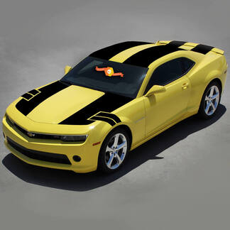 CHEVROLET CAMARO 2010-2015 COUPE NS1 STYLE STRIPES COMPLETE VINYL DECALS SET