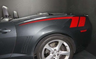 CHEVROLET CAMARO 2010-2015 COPO STYLE QUARTER SIDE STRIPES