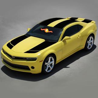 CHEVROLET CAMARO 2010- 2015 BUMBLEBEE TRANSFORMERS RACING Vinyl STRIPES