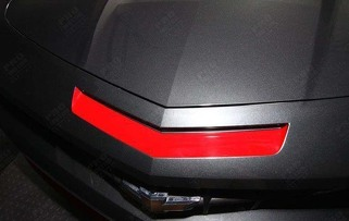 CHEVROLET CAMARO 2010-2013 SS MAIL SLOT VENT INSERT STRIPE DECAL