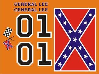 General Lee Decal KIt