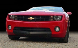 CHEVROLET CAMARO 2010-2013 FRONT VALANCE BLACKOUT DECALS