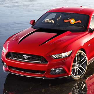 Ford Mustang 2015-2020 Hood Accent U-Streep Decal