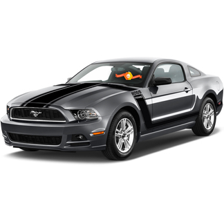 FORD MUSTANG 2013- 2020 BOSS 302 STYLE HOOD & SIDE STRIPES
