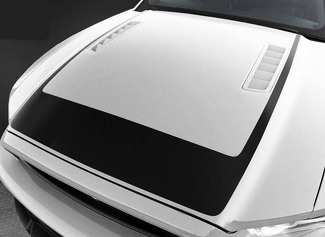 FORD MUSTANG 2013-2014 & 2005-2009 RTR STYLE HOOD STRIPE DECAL
