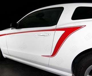 FORD MUSTANG 2010-2014 SIDE ACCENT STRIPES
