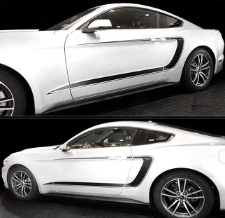 FORD MUSTANG 2015-2017 SIDE ACCENT C-STRIPES