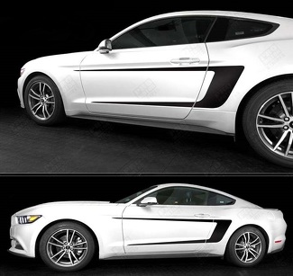 FORD MUSTANG 2015- 2017 SIDE ACCENT C-STRIPES
